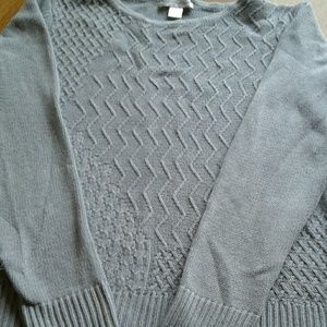 Women's gray sweater by Christopher Banks size M